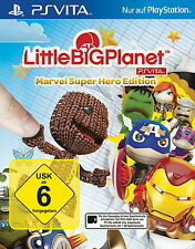 SONY PS VITA LITTLE BIG PLANET MARVEL SUPER HERO EDITION NEU OVP