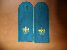 Vintage Australian Rover Scout Shoulder Epaulettes from the early 1950's