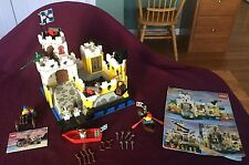 Lego sets #6276 Eldorado Fortress and #1970 Pirate's Gun Cart with Instructions