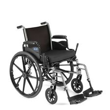 "Invacare Tracer SX5 20x16"" Wheelchair w/ Full Length Arms & Footrests TRSX50FBFP"