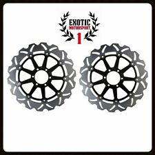 Front Brake Disc Rotors Set KTM Superduke 990 2005-2012 Floating Wave Rotors