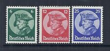 1933 Germany SC 398-400 | MI 479-481 Frederick the Great- MNH VF*
