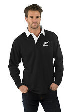 "NEW ZEALAND RUGBY SHIRTS - LONG SLEEVE, SIZE M (44"")  CHRISTMAS GIFT IDEA.."