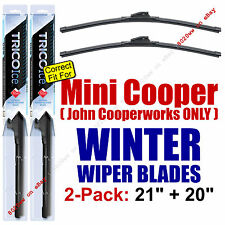 WINTER Wipers 2pk - fit 2012 Mini Cooper John Cooperworks ONLY - 35210/200