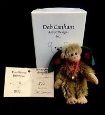 Deb Canham Artist Designs Miniature Winged Flying Monkey Wizard Of Oz 3-1/4""