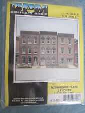 DPM Design Preservation Models #11400 Townhouse Flats (Front Wall Only)-