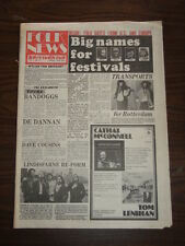 FOLK NEWS INTERNATIONAL NO.11 APRIL 1978 BILLY CONNOLLY