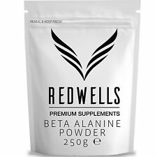 BETA ALANINE 250g PHARMACEUTICAL QUALITY - SAME DAY DESPATCH - WITH FREE SCOOP!