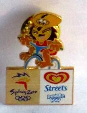 STREETS PADDLE POP LION CYCLING SYDNEY 2000 OLYMPIC GAMES RARE PIN BADGE #20