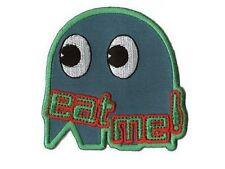 PACMAN Ecusson brodé Eat me Fantome Neuf Pac Man