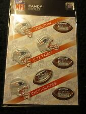 NFL NEW ENGLAND PATRIOTS CHOCOLATE MOLD gelatin ice cubes candy football molds