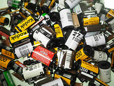 50 Empty Assorted 35mm film canisters Fuji, Kodak & more, use for reloading b&W