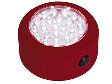 LAMPE SPOT ECLAIRAGE A 24 LED MAGNETIQUE AVEC CROCHET POUR CAMPING PLACARD TENTE
