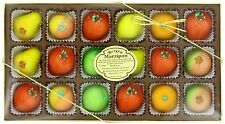 Bergen Marzipan M-1 Assorted Fruit, 8 Ounce Healthy delicious snack NEW XCL