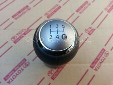 Toyota Yaris Vitz 5MT Leather Sports Shift Knob Genuine OEM Part