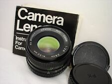 JCPenney 28mm F 2.8 lens , PENTAX K (PK) mount  SLR or DSLR SN900924