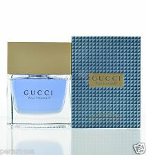 Gucci  Pour Homme II Eau De Toilette 3.3 OZ for Men  NEW