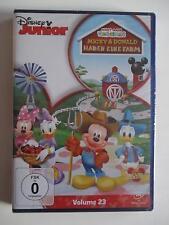 Disney Junior Wunderhaus: MICKY & DONALD HABEN EINE FARM Vol. 23 - DVD NEU + OVP