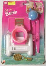 Vintage 1996 Mattel Miami Barbie Conjunto de Juego Deportes Netball tenis Esquí Acuático