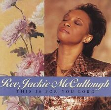This Is for You Lord by Jackie McCullough (Cassette, Feb-1999, GospoCentric)