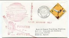 1972 Pioneer F Jupiter Fly-By Asteroids Belt Madrid Space Tracking Station Spain