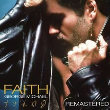 Faith - George Michael - REMASTERED (Explicit) Audio CD New & Sealed