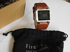 Unisex Firetrap Digital LCD Brown Strap Watch - FT1075T - RRP £70.00