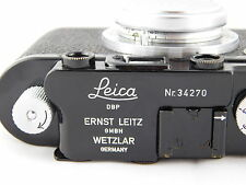 Leica i modification of iif Nr 34270 Nice Cond. Leitz i ii iii a b c d e f g 1 2