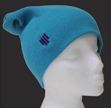 NEW 4Frnt Skis Schlitz Blue Mens Warm Beanie Winter Snowboard Ski Hat Msrp$20