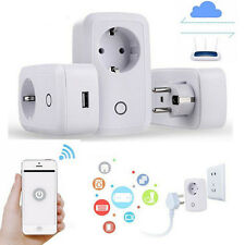 2.4G Wireless 3G/4G WIFI Phone Remote Control Smart Timer Socket Switch EU Plug