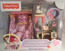 2014  FISHER PRICE LOVING FAMILY PARENTS'  BEDROOM NEW