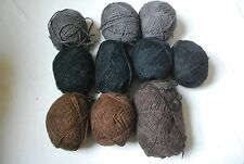 800g+ Bundle of  yarn wool perfect for baskets, rugs and home accessories