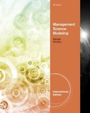 Management Science Modeling Albright & Winston  (4th Edition)