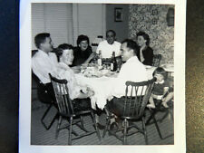 Social Occasion with Bottles Of Alcohol Photo 1940s