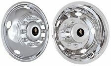 DODGE RAM 4500 5500 19.5 10 LUG STAINLESS WHEEL COVER WHEEL SIMULATOR LINERS