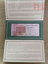 Bangladesh Commemorative Banknote with Folder  UNC 2013