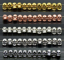 Solid Metal Lion Dragon Buddha Owl Head For Bracelet Connector Beads Silver Gold