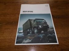 VOLVO FMX Military Trucks Brochure Prospekt Catalogue