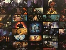 BlizzCon 2016 Blizzard Cinematic Poster Overwatch WoW Starcraft Rare