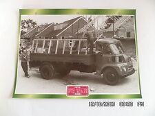 CARTE FICHE CAMION PORTEUR BMC AUSTIN FG K80 1963