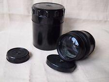 JUPITER 9 85mm f/2 M39 Rangefinder Lens Leica FED Zorki 4/3 micro EXC!