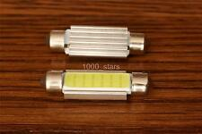 C5W (2x) SV8.5 41MM WHITE 6000K 100LM LAMP LED COB LIGHT BLANCO 41 FESTOON BMW