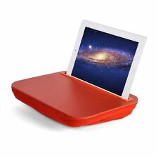 Itray LAP DESK Rosso iPad & Universal Tablet Ereader STAND con Microbead Cuscino