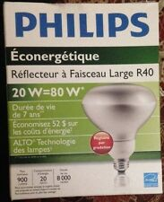 Philips CFL Bulb  20W 2700K R40 Dimmable- Last 7 Years! Energy Saver!