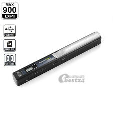 Scanner Portable Handyscan Carte TF A4 900DPI Scan Docoment Photo JPG/PDF