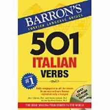 501 Verb: 501 Italian Verbs : With CD-ROM by Vincent Luciani, John Colaneri...