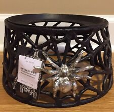 NEW Pottery Barn Spider Web Drink Dispenser Stand HALLOWEEN