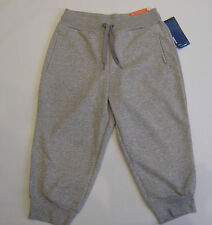 REEBOK Elements French Terry 3/4 Capri Pants /Track Fitness Pants Size X Small