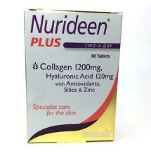 HealthAid Nurideen Plus 60 Tablets Collagen 1200mg Hyaluronic Acid 120mg