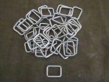 "Military Surplus Square  Rings 1"" OD. By 3/4"" ID. package of 40 pcs"